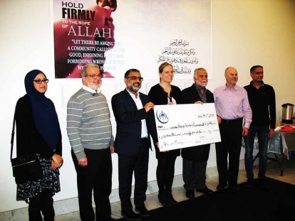 London Muslim Mosque Fundraises for the Training of a Palestinian Doctor in Ontario