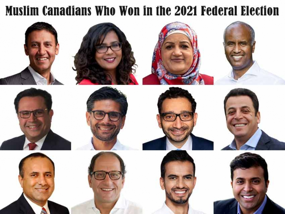 Muslim Canadians Who Won in the 2021 Federal Election
