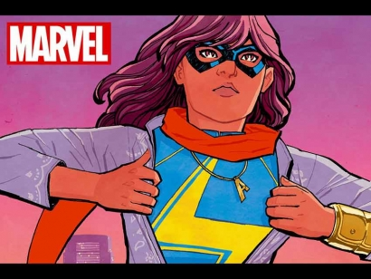 Marvel's first on-screen Muslim superhero — Kamala Khan, Ms. Marvel's alter-ego — inspires big hopes