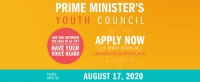 Join Other 16 to 24 Year-Olds from Across on the Prime Minister's Youth Council
