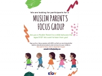 Participants Wanted: EIDY Muslim Parents' Focus Groups Online and In Person