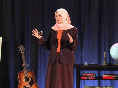 In 2014, Arab Canadian Chemistry Professor Hind Al-Abadleh spoke at TEDxLaurierUniversity, in Waterloo, Ontario.