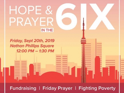 Hope and Prayer in the 6ix Helps Tackle Poverty and Homelessness in Toronto
