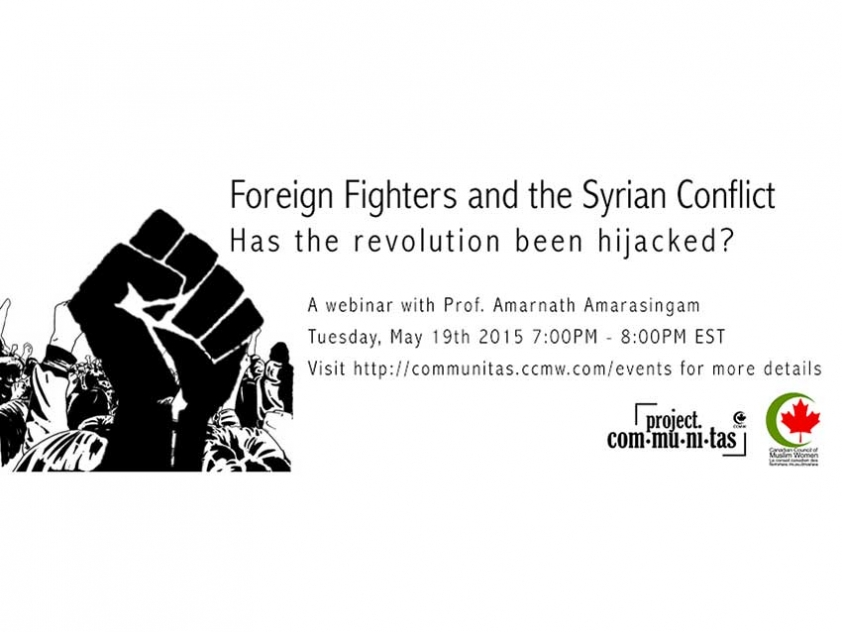 Foreign Fighters and the Syrian Conflict: Insight on Violent Extremism and What Communities Can Do to Address It