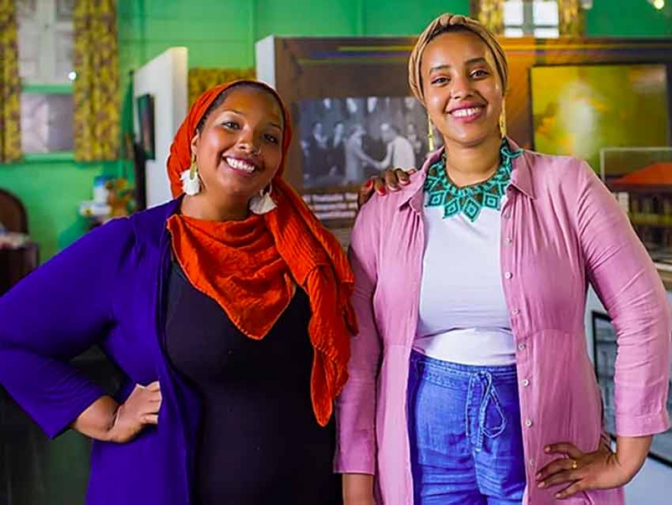 Afro-Latina Muslim Canadian Gilary Massa and Ethiopian Harari Canadian have launched Sisters Circle