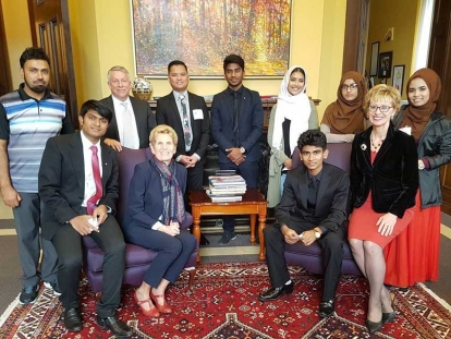 Pictorial: Rohingya Youth Lead Canadian Movement For Justice in Myanmar
