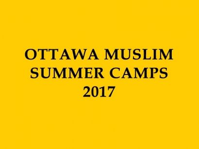 Muslim Summer Camps in Ottawa