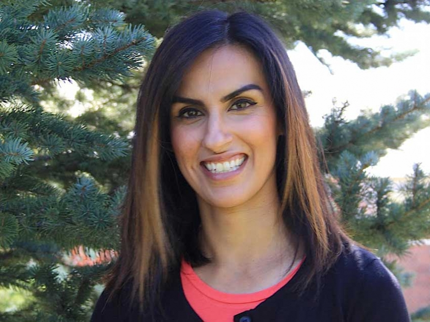 Calgary-based sexual health educator Sameera Qureshi visited Edmonton to promote more open discussion of sexual health within Muslim Canadian communities.