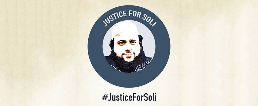 The Justice for Soli campaign is crowdfunding to support Soleiman Faqiri's family's legal challenge to fight for justice for their loved one.