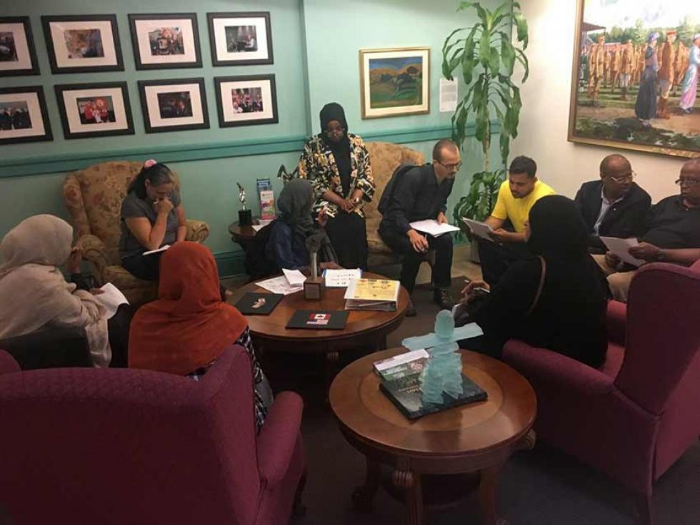 Herongate Tenant Coalition meets with Mayor Jim Watson