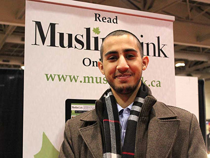 """...letting everyone have their own freedom."" - Othman Tmoulik from Ottawa"