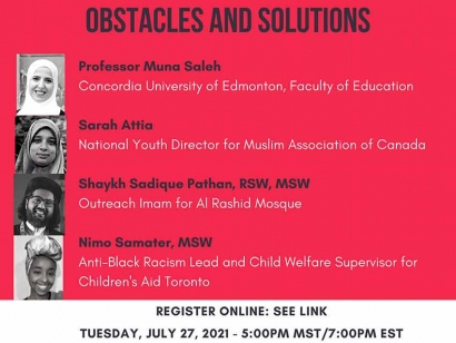 Watch the Institute for Religious and Socio-Political Studies's Panel Discussion on Building Muslim Youth Identity in Canada Online