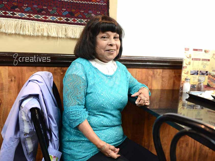 """""""I have never felt held back by my condition."""" - Bibi Majeed"""