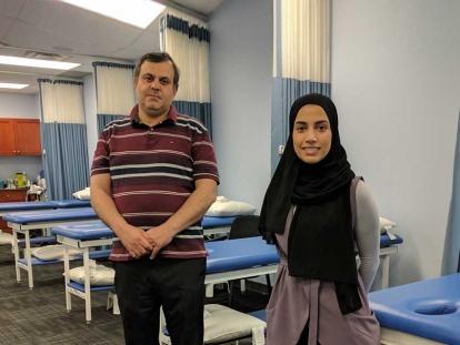 Physiotherapists Mohamed Fouda and Keltouma Nouah work at Prime Physio Plus in Ottawa.