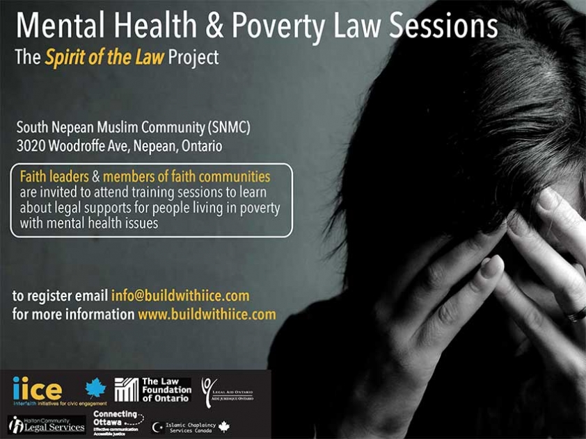 Local Imams Attend Workshop on Mental Illness and the Law delivered by Connecting Ottawa.