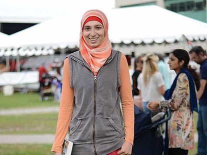 Sakina at the Palestinian Summer Festival