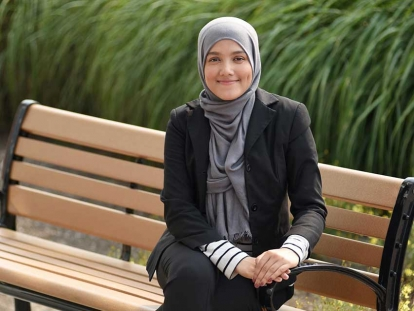 Yasmine Ullah is a Rohingya Canadian living in Vancouver, BC.