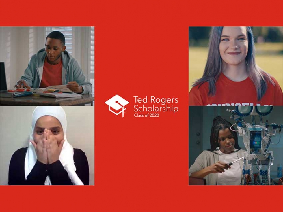 Rogers Celebrates Ted Rogers Scholarship Class of 2020 on International Youth Day