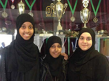 Deka Arab, Sarah Hussain, and Fatima Kabeli have made it to the finals of PeaceMidan's 320Reality Contest