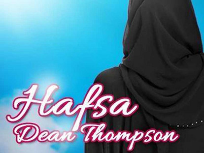 Hafsa Dean Thompson has chosen to not use her photo publically for privacy reasons since an incident occurred when she appeared on the cover of a Muslim magazine in BC.