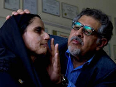 Dr Muhammad Jawad, right, is a pioneering British-Pakistani plastic surgeon who treated the two acid-attack survivors profiled in the Oscarwinning film Saving Face.