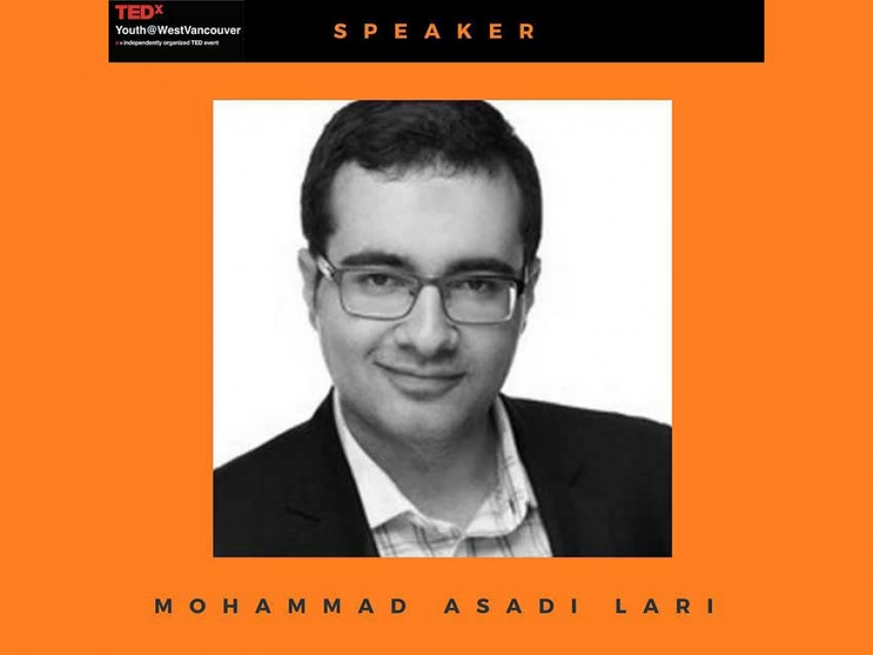 Mohammad Asadi-Lari on Thinking Globally but Acting Locally at TEDxYouth@WestVancouver 2019