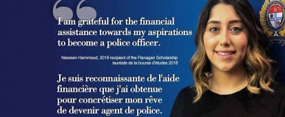 Ottawa Police Service Thomas G. Flanagan S.C. Scholarship for Indigenous and Racialized Women Interested in Joining the Ottawa Police