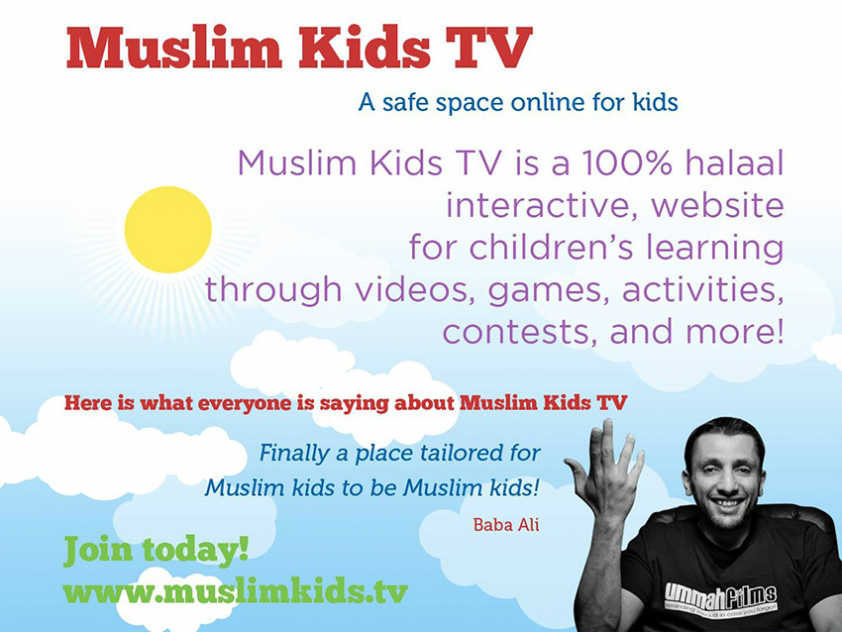 Baba Ali endorses Muslim Kids TV