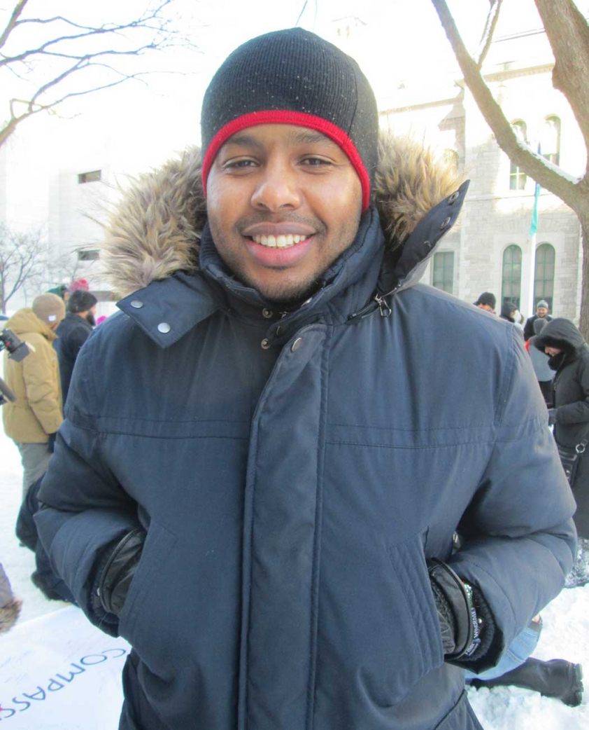 Mohamed Islam attended the Canadian Muslims for Peace gathering in Ottawa on January 31st.