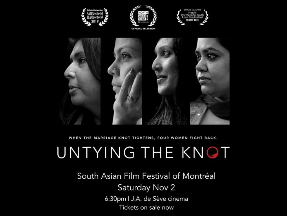 Watch the Documentary Untying the Knot about Bangladeshi Canadian Domestic Violence Survivor Rumana Monzur