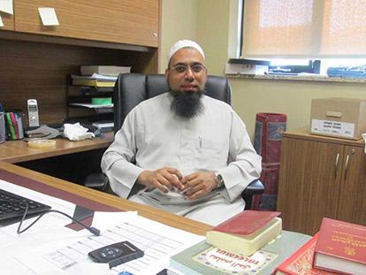 Imam Mohammed Badat of the Islamic Society of Cumberland (Masjid Bilal)