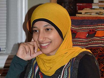 Arab Canadian law student Assma Basalamah