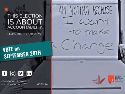 National Council of Canadian Muslims Get Out the Vote Campaign