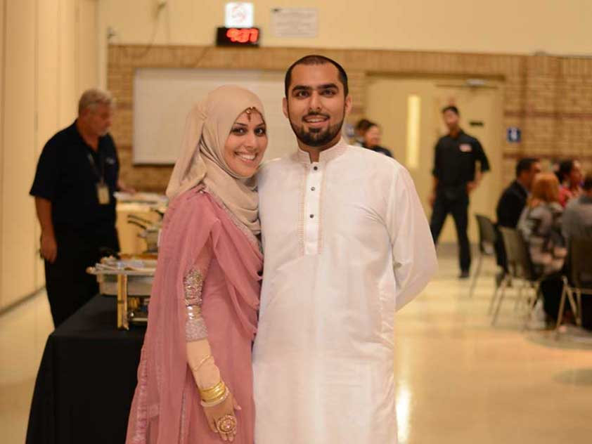 """the loving, salt-of-earth people that make up the Muslim community."" - Batoul & Ali"