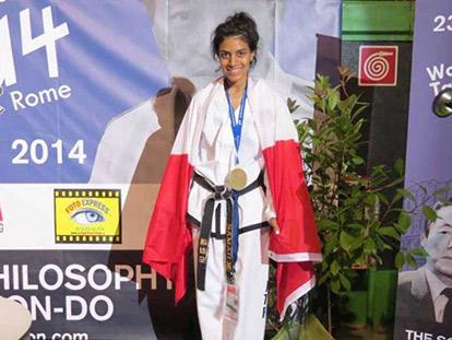 International Taekwondo Champion Samah Syed