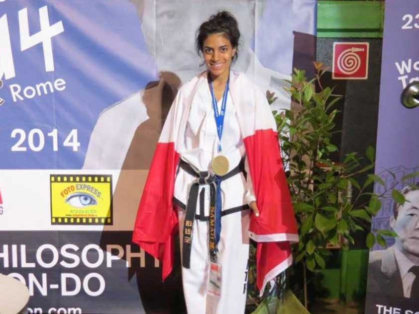 International Taekwondo Champion Samah Syed