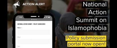 Participate in the Virtual Policy Consultation Process for the National Action Summit on Islamophobia