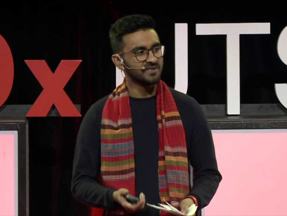 In 2019, Tahmid Khan was a speaker at TEDxUTSC (University of Toronto Scarborough Campus) in Scarborough, Ontario.