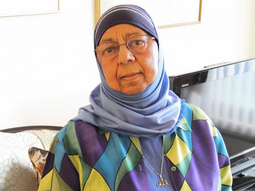 Khadija Haffajee is an Ottawa-based Muslim community activist.