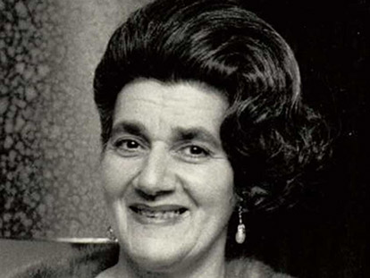 Eva Wahab, the first Muslim born in Ottawa. Photo Taken in the 1960s