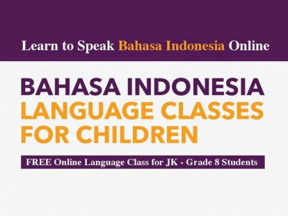 Indonesian Embassy Launches Online Indonesian Language Class for Elementary Students in Canada