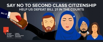 Help the National Council of Canadian Muslims (NCCM) Beat Bill 21 in the Courts