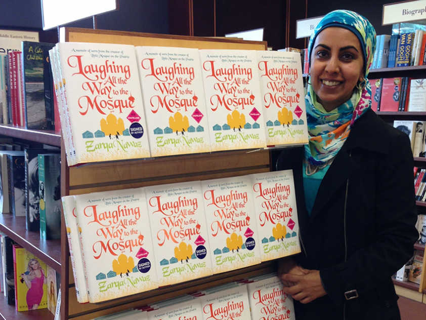 "Zarqa Nawaz has written a memoir, ""Laughing All the Way to the Mosque""."