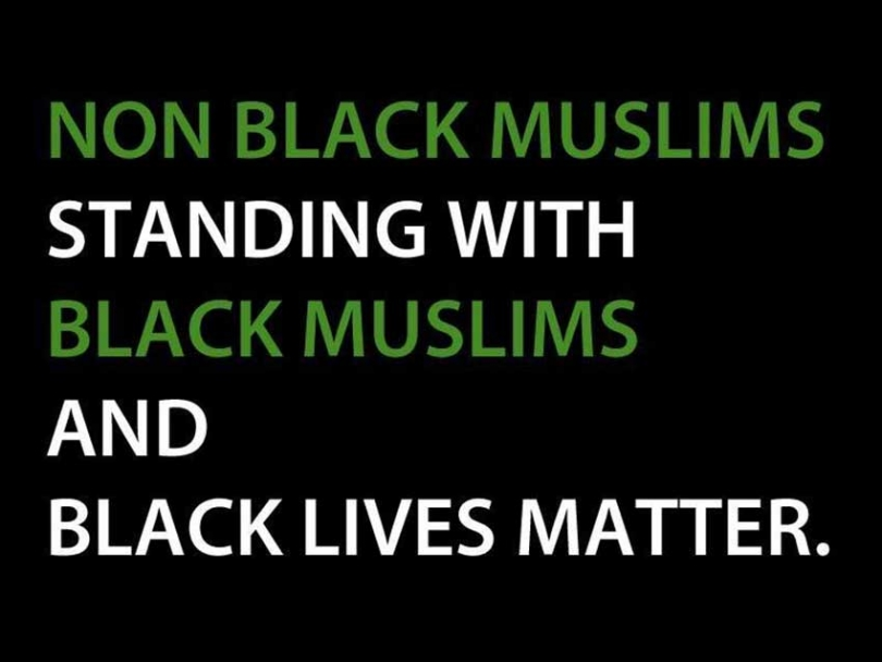 Non-Black Muslims in Toronto are crowdfunding to support Black Lives Matter Toronto in solidarity with Black Muslims and the BLM movement.