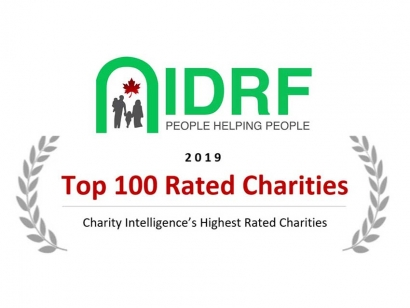 Islamic Canadian Charity IDRF Made Charity Intelligence Canada's 2019 Top 100 Rated Charities List