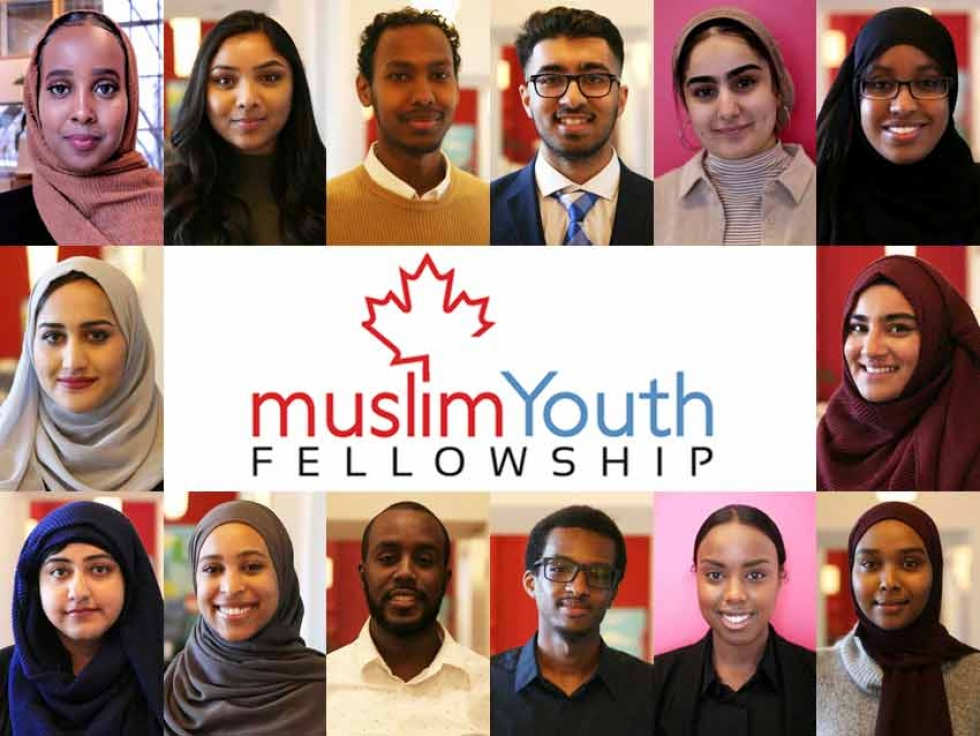 Members of the 2019 Cohort of the City of Toronto's Muslim Youth Fellowship