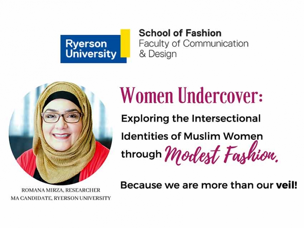 Romana Mirza is a Masters student at Ryerson University researching modest fashion and Muslim women.