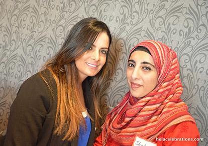 Amal Elfarou and Shalini bint Ashok