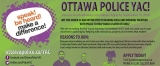Volunteer with the Ottawa Police Service Youth Advisory Committee (YAC)