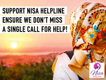 Support Nisa Helpline To Ensure We Do Not Miss a Single Call for Help